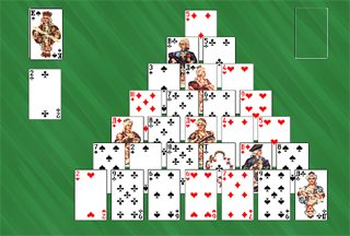 pyramid solitaire game